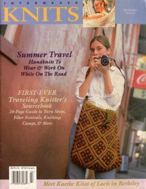 INTERWEAVE KNITS Summer 2000 Mesh Tunic Orenberg Lace Shawl Carryall Socks