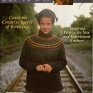 INTERWEAVE KNITS Winter 2000/01 Nordic Fair Isle Sweaters Peplum Cardigan Socks