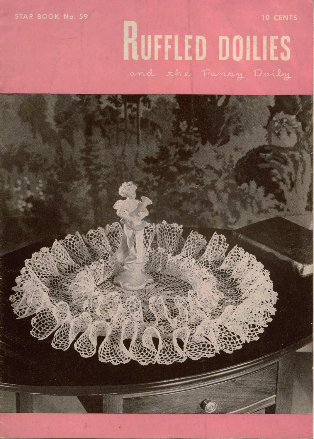 Crochet Patterns Ruffled Doilies Doily Pansy Victorian
