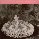 Crochet Patterns Ruffled Doilies Doily Pansy Victorian Star Book 59 1948