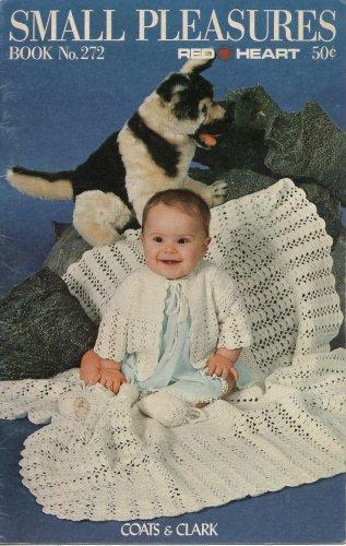 Crochet Knitting Patterns Baby Small Pleasures Blanket Sleeper Hat 1978