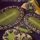Crochet Patterns Hand Hook Hobbies Doilies Cowgirl Doll Edgings Pincushion 1951