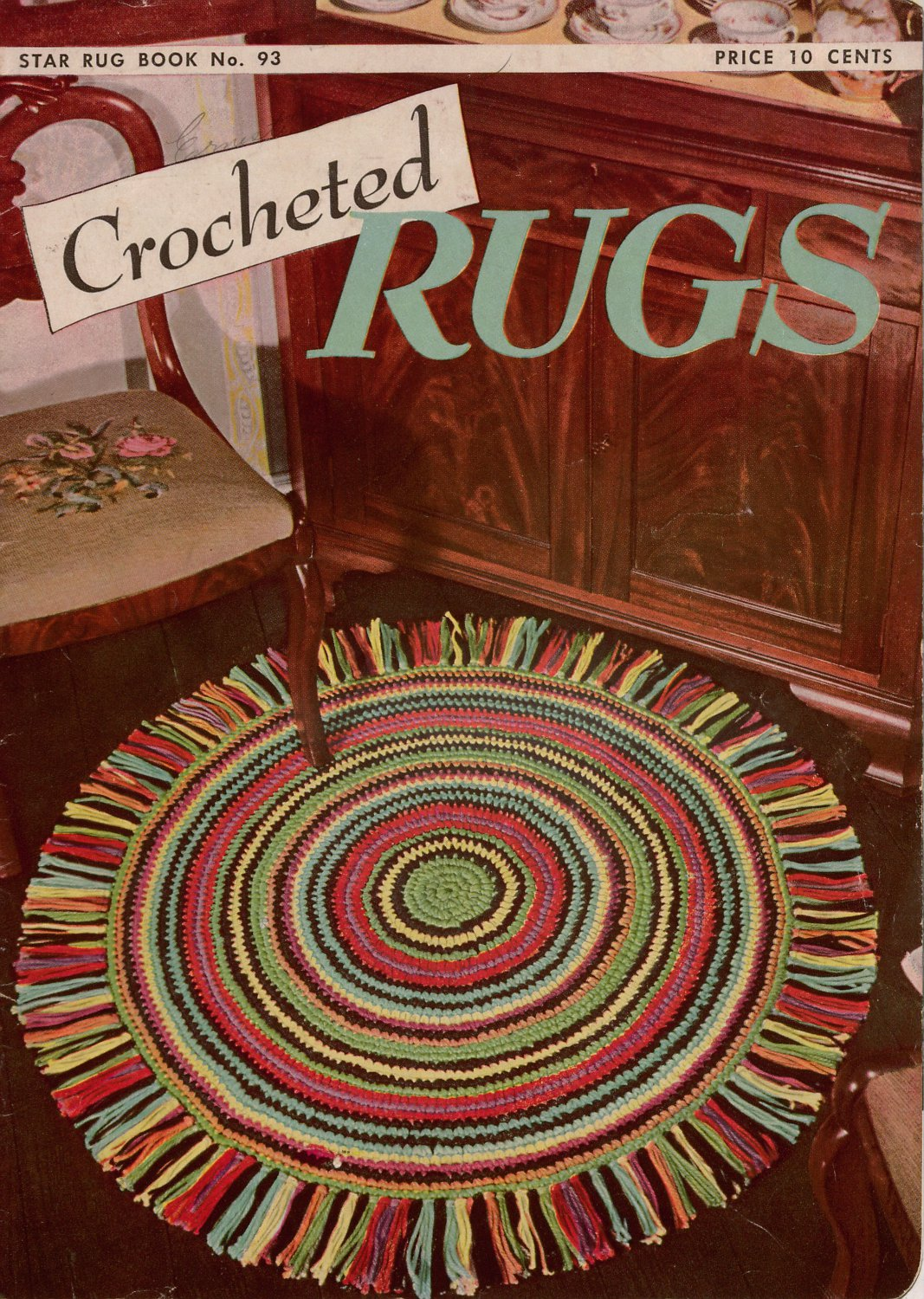 Luxury Crochet Star Rug Pattern Embellishment - Sewing Pattern for ...
