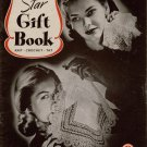 Star Gift Book Knit Crochet Tat Patterns Slippers Edgings Toys Apron 1944