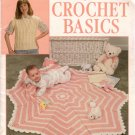 New Crochet Basics Leisure Arts 777 Beginner Patterns Baby Afghan 1989