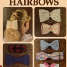 Crochet Patterns Crocheted Hairbows Leisure Arts 955 9 Designs 1990