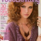 VOGUE KNITTING Early Fall 2010 Lace Patterns Jacket Coverup Western Weekend