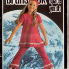Brunswick Space Youth Knitting Patterns Child Dress Tights Beret 1970