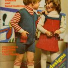 Mon Tricot Children Knitting Crochet Patterns School Sweaters Hats 1973