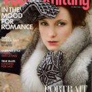 VOGUE KNITTING Fall 2011 Magazine Fair Isle Nordic Gloves Brioche Hat Shawl