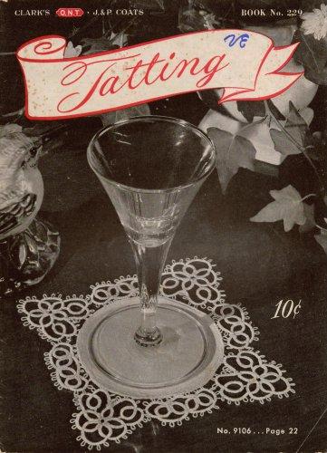 Tatting Patterns Lace Doilies Edgings Appliques Insertions Motifs 1946