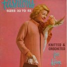 Star 204 Fashions Him Her Size 32 to 52 Sweater Coat Knit Crochet Patterns 1960