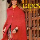 Vintage Knitting Crochet Patterns Columbia Minerva In Capes 5 Designs 1972 VTNS