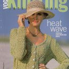 VOGUE KNITTING Spring Summer 2003 Floral Ruffle Crop Tops Long Dress Pants