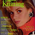 VOGUE KNITTING Spring Summer 1987 Romantic Sweaters Valentino Calvin Klein