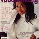 VOGUE KNITTING Fall 2006 Michael Kors Tunic Cat Bordhi Socks Floral Shawl