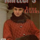 Knitters 25 Winter 1991 Little Luxuries Fair Isle Mobius Angora Sweater