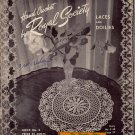 Crochet Patterns Royal Society Laces Doilies Edgings Motifs Book 3 1943