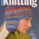 VOGUE KNITTING Winter 2002 Sweaters Earflap Hat Wraps Oscar de la Renta