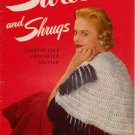 Stoles Shrugs Knitting Crochet Hairpin Lace Patterns Shawls Bolero Vintage 1953