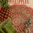Crochet Patterns Pineapple Motifs Doily Edgings Apron Place Mats Vintage 1952