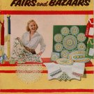 Suggestions Fairs Bazaars Crochet Pattern Pineapple Doily Pincushion Edging 1953