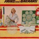 Suggestions Fairs Bazaars Crochet Pattern Pineapple Doily Pincushion Edging 1953