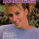 Knitters 7 Summer 1987 Knitted T-Shirts Tank Square Neck Basketweave Patterns