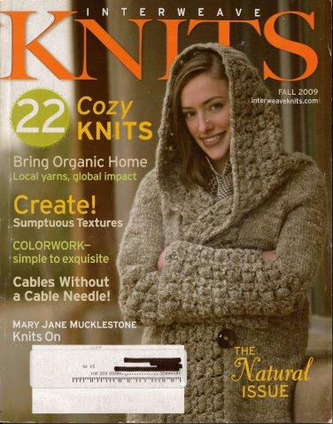 INTERWEAVE KNITS Fall 2009 Clasica Coat Rosamunds Cardigan Bandelier Socks Wrap
