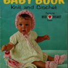 Coats Clark 166 Baby Book Knit Crochet Patterns Dress Afghan Octopus Sets 1966