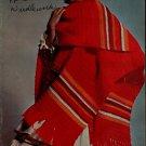 Coats Clark 243 Shawls Galore Knitting Crochet Patterns Ruana Stole Poncho 1975