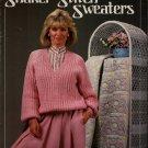 Leisure Arts 422 Shaker Stitch Sweaters Knitting Patterns Women Sizes 32-40 1986
