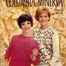 Columbia Minerva 745 Spotlight Sweaters Knitting Patterns Cardigan Jacket 1960