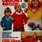 Mon Tricot MD 44 Knit Crochet Patterns Children Sweaters Jackets Coat Socks 1977