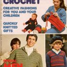 Mon Tricot MD 42 Knit Crochet Patterns Special Men Sweaters Jackets Gifts 1977