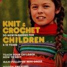 Mon Tricot MD 48 Children Knit Crochet Patterns Dog Sweater Dress 1977