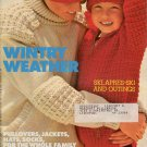Mon Tricot MD 59 Knit Crochet Patterns Skiwear Sweater Jacket Socks Hat 1979