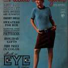 Needle Yarn 8 Fall Winter 1966 Knitting Crochet Patterns Mini Dress Cable Shrug