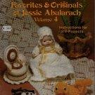 Jessie Abularach Favorites Original #4 29 Crochet Patterns Snowflake Flower 1981
