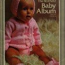 Bernat Baby Album Book 187 Knitting Crochet Patterns Sweaters Layette Hats 1972