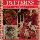 Crochet Patterns Herrschners Christmas Afghans Potholder Ornaments Sweaters 1988