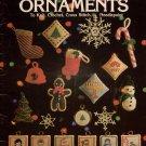 Leisure Arts 107 Holiday Ornaments Knitting Crochet Cross Stitch Patterns 1977