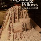 Leisure Arts 149 Afghans Pillows Knitting Crochet Patterns Sampler Aran 1979