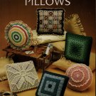 Leisure Arts 282 Crocheted Pillows 6 Patterns Flower Garden Ruffles Granny 1983