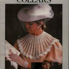 Leisure Arts 446 Crocheted Collars Crochet Patterns Flower Filet Rose Shell 1986