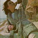 Bernat 214Family Fashions Sweaters Sportswear Carioca Knitting Patterns 1974