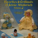 Jessie Abularach Favorites Original #5 33 Crochet Patterns Dolls Toys Angel Xmas