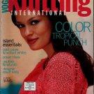 VOGUE KNITTING Spring Summer 2001 Tropical Sweaters Oscar de la Renta