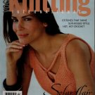 VOGUE KNITTING Spring Summer 2004 Crochet Tankini Bikini Lace Tops Cardigan