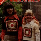 Leisure Arts 58 Grannies Crochet Patterns Easy Granny Square Sweater Afghan 1975